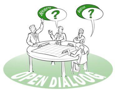 &Uzelf in de praktijk. Met een pragmatische aanpak, focus en overtuiging dat succes doet geloven nieuwe innovatieve koers met Centraal Beheer Open.